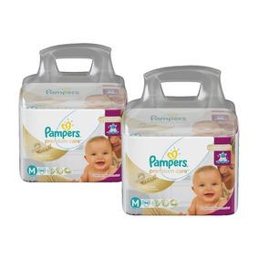 Kit Fralda Pampers Premium Care Top Tamanho M C/188 Unidades