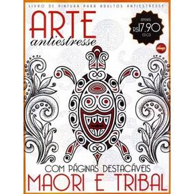 Livro De Colorir Antiestresse - Maori E Tribal