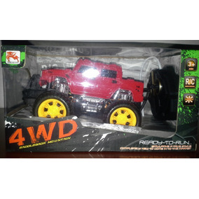 Carro A Control Remoto Big Wheel 4x4