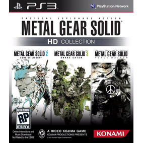 Metal Gear Solid Hd Collection Ps3 Psn Promoção
