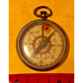 Compass Brújula Antigua De Boys Scout De Estados Unidos
