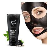 Máscaras Limpeza Facial Argila Preta 30g Remove Cravos