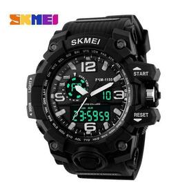 Relógio Masculino Skmei 1155 Militar Prova D