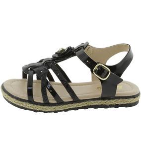 a674f88c37 Sandalia Rock Lily Marron Tam Feminino - Sapatos no Mercado Livre Brasil