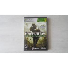 Call Of Duty 4 Modern Warfare - Xbox 360 - Original - Usado