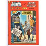 Hq Batman Nº 53 Ebal Em Cores 1975 1º Série