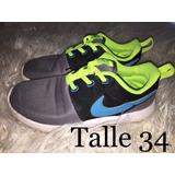 wholesale dealer 94e54 a119c Zapatillas Nike Talle 34