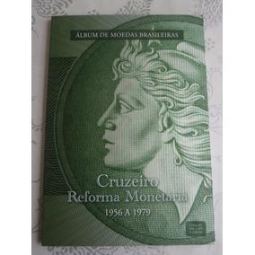 21 Moedas Diferentes P/ Album Cruzeiro Reforma Monetária