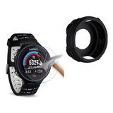 Capa Protetora Relógio Garmin 235 + Película - Promoção