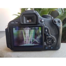 Canon T3i Sem Lente