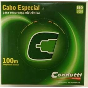 Cabo De Alarme 3 Pares 6 Vias 050 3x26 100m Condutti