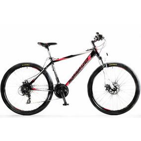 Bicicleta Futura Mtb Pantera 24 Velocidades Rodado 26 Roja Y