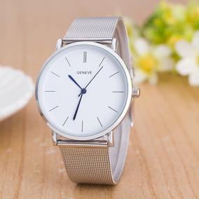 Reloj De Mujer Geneve Elegante Malla Envio Gratis