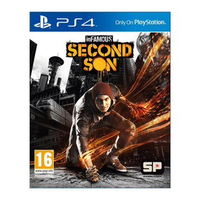 Juego Ps4 Sony Infamous Second Son