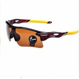 Kit 3 Óculos De Sol Ciclista Esporte Uv