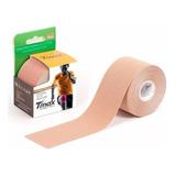 Bandagem Elástica 5cm X 5m Kinesio Tape Fisioterapia Bege