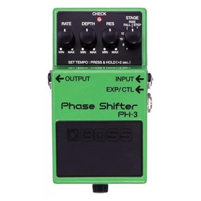 Pedal Boss Phase Shifter Ph-3 Efeito Phase Para Guitarra