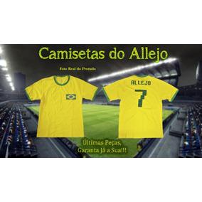 0c472786f3 Camisa Camiseta 100% Algodão Brasil 2018 Vd - 012
