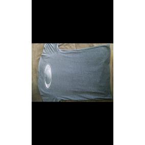 293ab6e1a914f Camiseta Oakley Mod Classic Elipse Cinza Chumbo