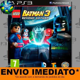 Jogo Lego Batman 3 Beyond Gotham Ps3 Digital Psn Português