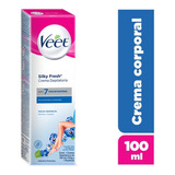 Veet Crema Depilatoria Corporal 100ml Silk&fresh