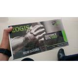 Tarjeta De Video Gtx1060 Zogis 6gb Gddr5 Gamer Mineris Diseñ
