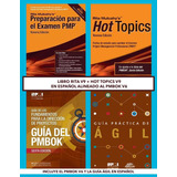 Libro Rita Mulcahy V9 + Hot Topic V9 Pmbok 6 Pmp Pmi Español
