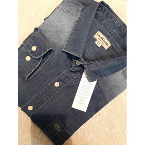 89ff3317db7 Camisas Lacoste Jean Regular Fit