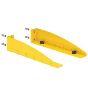 Suporte Para Forno Microondas Moderno F-decor. Amarelo