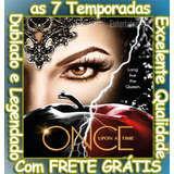Serie Once Upon A Time (1ª À 7ª Temporada) + Frete Grátis