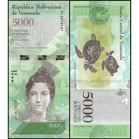 Cédula Fe De 5.000 Bolívares New