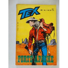 Tex Nº 4! 1ª Edição! Editora Vecchi Maio 1971!