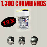 Chumbo Chumbinho Maciço Carabina Pressão 5.5mm 1300 Unidades