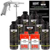 U Pol Raptor Black Urethane Spray On Kit