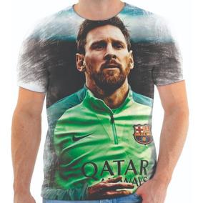 e578ae42ad Lionel Messi Camisa - Camisetas e Blusas no Mercado Livre Brasil