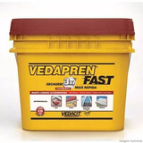 4 Galoes De Vedapren Fast De 5 K Cada Na Cor Branca