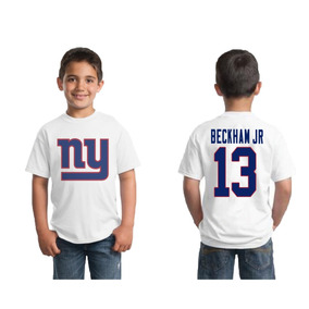 fff7e8c52 Camiseta Infantil New York Giants Beckham Jr Nfl
