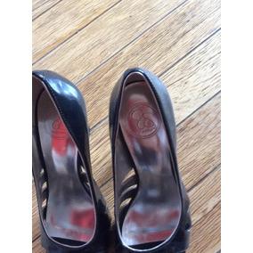 2c2035cecd8a2 Zapato Dama Charol Negro Marca Jessica Simpson Casi Nuevos