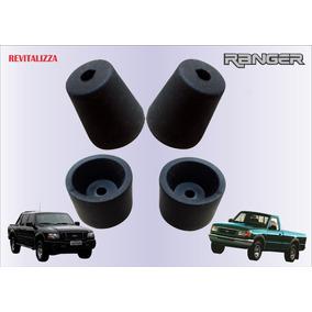Jogo4pçs Batente Amortecedor Portas Ford Ranger Até 2012