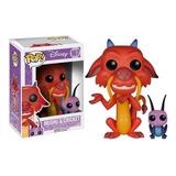 Funko Pop Disney Mulan Mushu And Cricket
