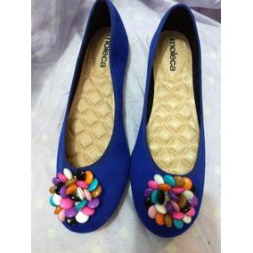 1a1758e0814 Sandália Sapatilha Moleca Azul Série Confete Colorido - 40