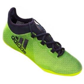 Chuteira Futsal Adidas X 16.1 Amarelo Limão E Preto - Chuteiras no ... d9803acff3fe3