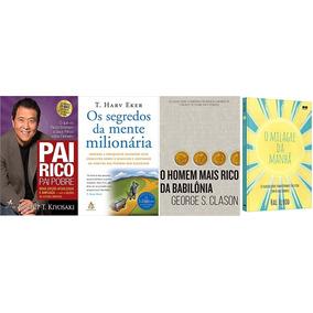 O Homem Mais Rico Da Babiônia +pai Rico Pai Pobre + 2 Livros