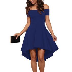 Vestidos de graduacion de sexto azul