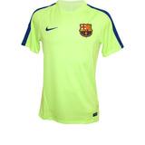 Camisa Nike Barcelona Dry Top Squad Verde Limão Original 3c7dc6f36d5