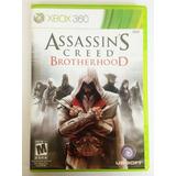 Juego Xbox 360 Assassins Creed Brotherhood Original Usado