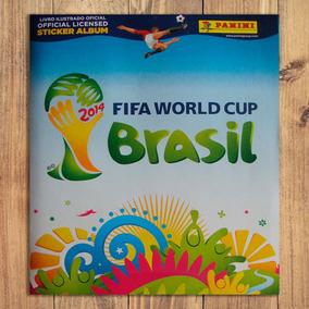 Álbum Copa Do Mundo 2014 Completo Coladas