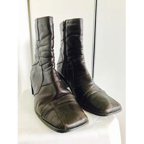 460fc6e6 Botas N°39 Cuero Con Pelo Por Fuera Otras Marcas - Zapatos de Mujer ...