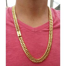 13c17a67927 Ousadia Masculino Ouro Corrente - Colar no Mercado Livre Brasil