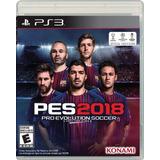 Pes 2018 Ps3 Play Station 3 Nuevo